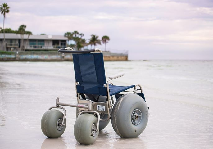 Beach Wheelchair Rental Siesta Key